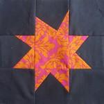 pink n orange star