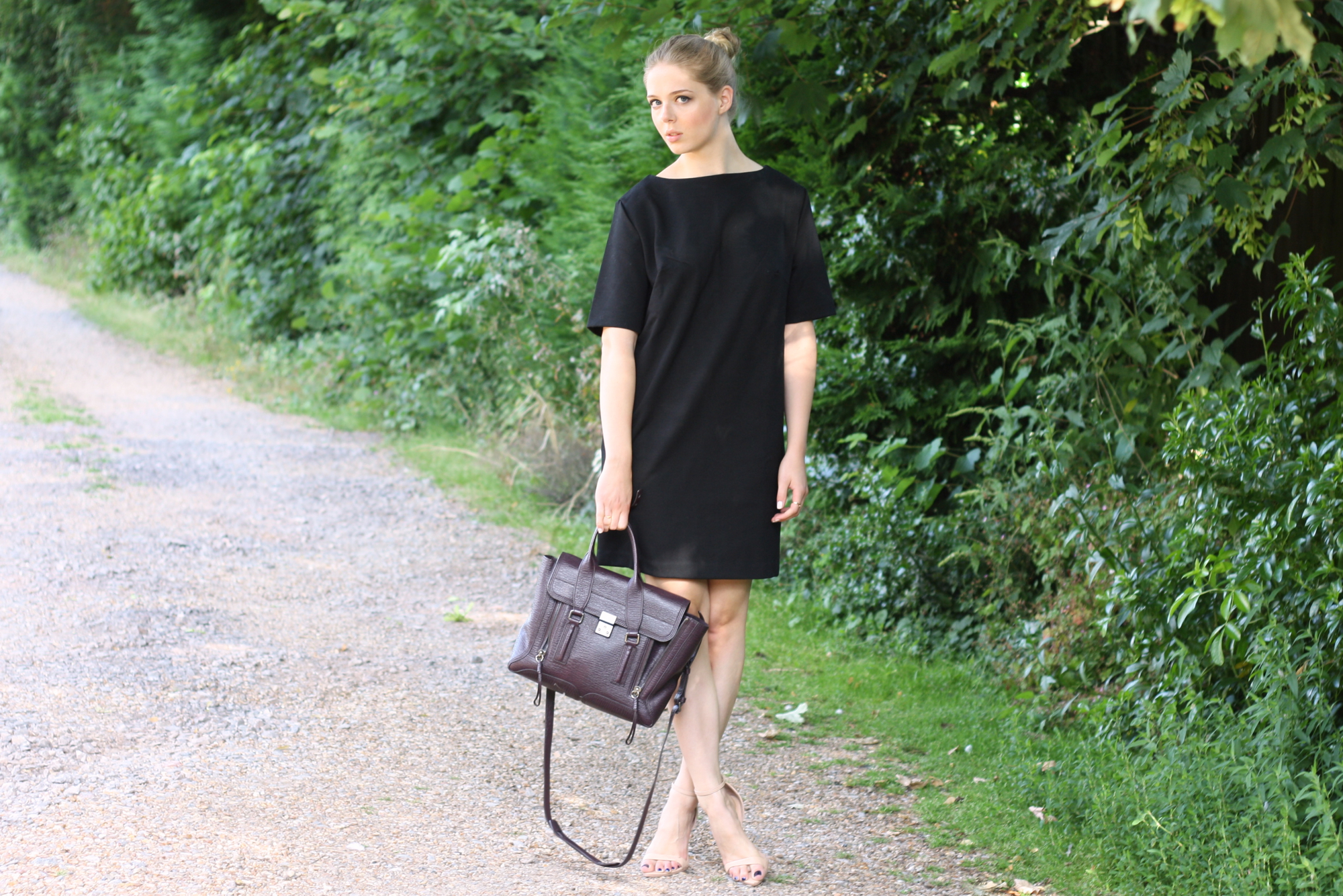 & Other Stories black jersey dress