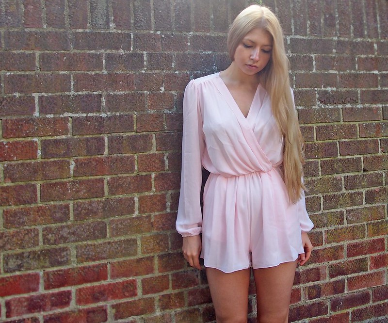 Sam Muses, UK Fashion Blog, London Style Blogger, Playsuit, Pastel, Grecian, Chiffon, In Love With Fashion, Sale, Bargains, High Street, SS14, How to Wear, Outfit Ideas, Styling Inspiration