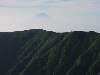 富士山も見えてきた