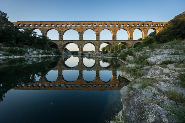 Pont du Gard -Roman aqueduct