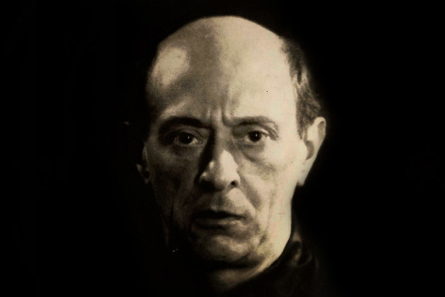 Arnold Schoenberg by Man Ray, 1927 © Arnold Schönberg Center