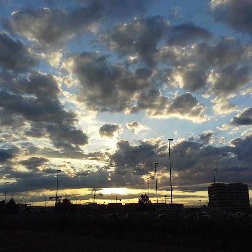 Il tramonto dopo la tempesta