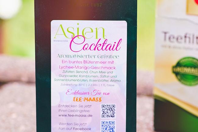 Review Degustabox, Produktneueinführungen, Inhalt Degustabox Juni, TEE-MAAS Grüntee Asien Cocktail