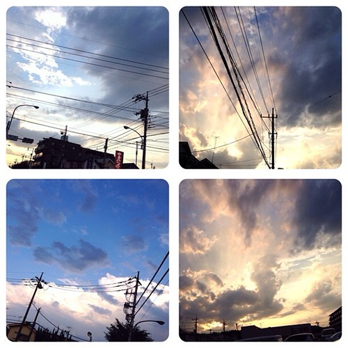 #sky after thunderstorm