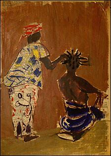 Painting by Ann Eisner Putnam