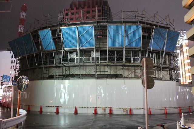 三原橋ビル解体中 (9)