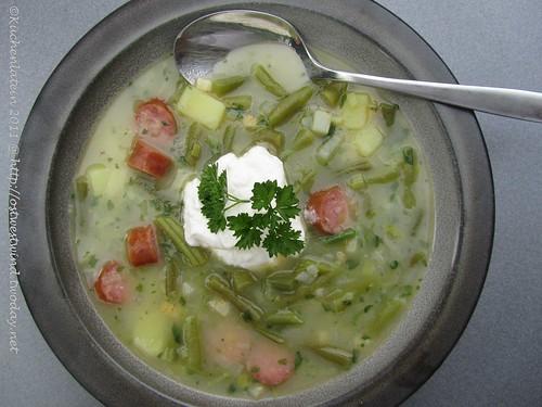 Lea Linsters Bouneschlupp  - Bohnensuppe (1)