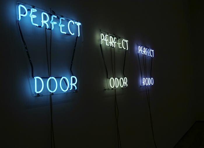 NYC Bruce Nauman MoMA