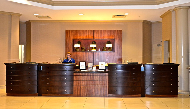 Reception and Front Desk - DoubleTree Hilton Lancaster PA