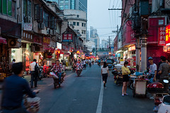 Shanghai street life