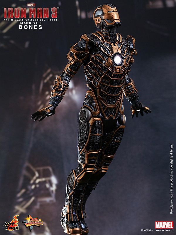 Hot Toys - Iron Man 3 - Bones (Mark XLI) Collectible Figure_PR4