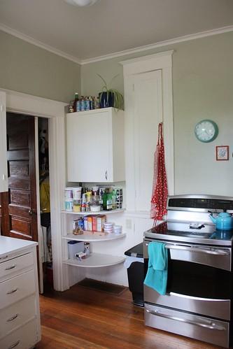 Before: Kitchen, Northwest Corner