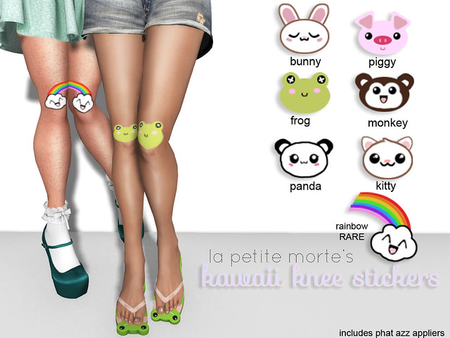 LPM KAWAII KNEE STICKER GACHA KEY