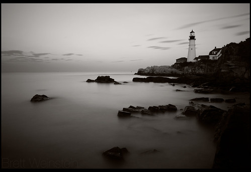 longexposure bw lighthouse white black me monochrome sepia canon portland blackwhite 2470mml 110 maine newengland monochromatic explore portlandmaine dslr portlandheadlight capeelizabeth portlandhead 2470mm capeelizabethmaine 2470mmf28 explored ef2470mm nd110 nrbelex 5dmkiii 5diii