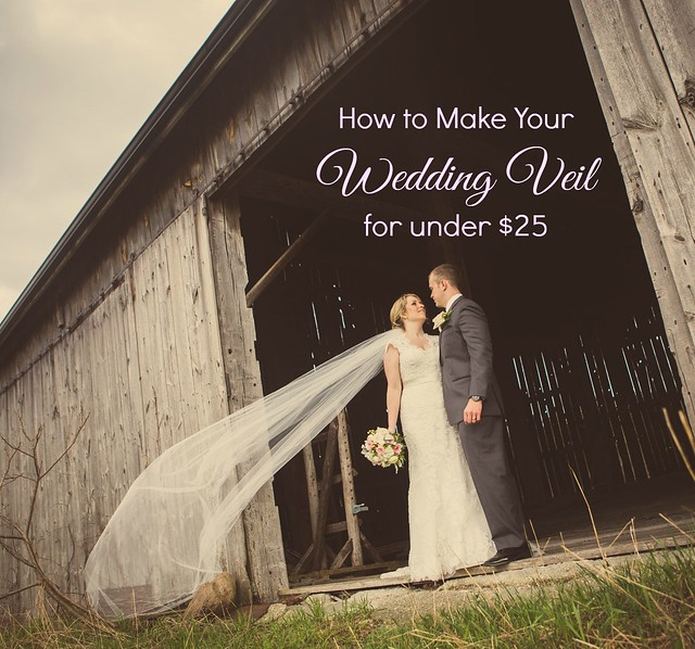 How to Make Your Wedding Veil for Under $25 {Wedding Wednesday ...