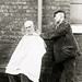 Barber, Crumpsall Workhouse, c.1897