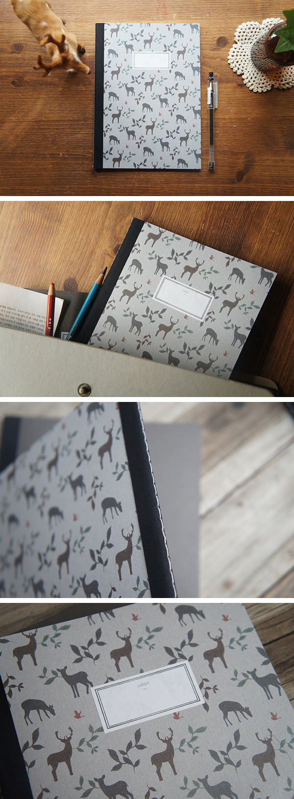 O-Check Deer Stitch Notebook