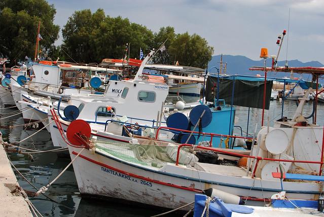 Aegina Boats
