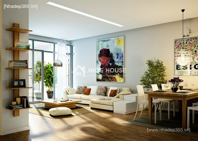 Thiết kế nội thất chung cư M5 - Mr Tiến_4