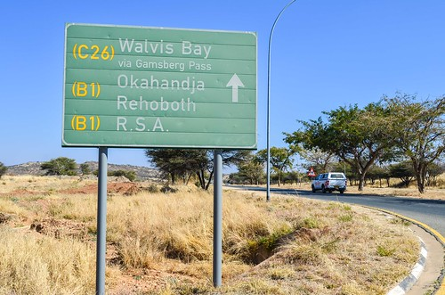 Way out of Windhoek