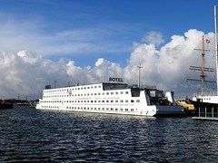 A hotel on a boat: Botel