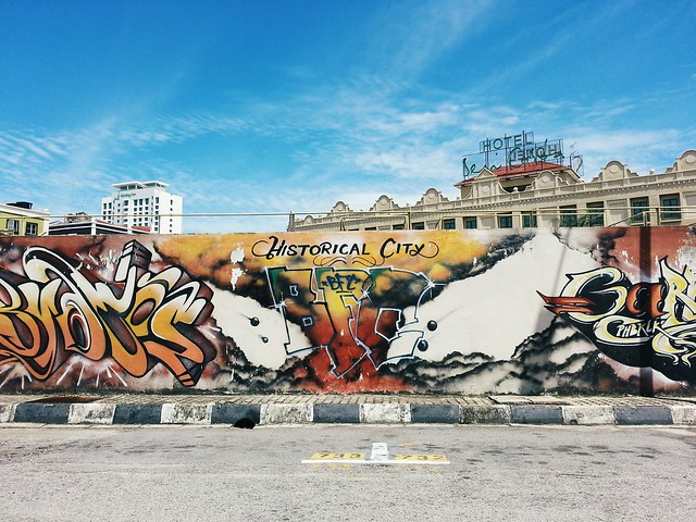 Malacca~ Streets and Art.