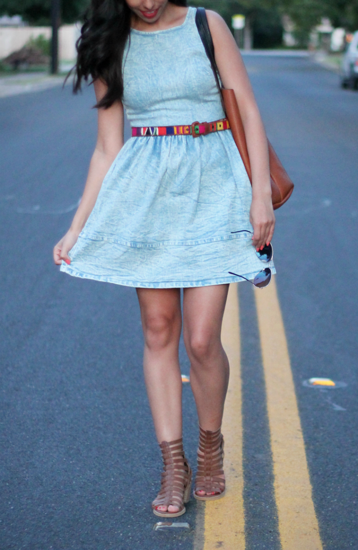 forever 21 denim dress
