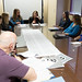 """State Representatives Rosa Rebimbas and Stephanie Cummings, and State Senator Joan Hartley, meet with concerned constituents and advocates to work on """"grandparent's bill of rights"""" legislation during the 2017 legislative session."""