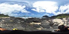 Makapu'u Beach - at 360 degrees Equirectangular VR