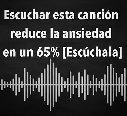 Los neurólogos dicen que esta canción reduce la ansiedad en un 65% [Escúchala] #InstitutoTALADRIZ http://buff.ly/2p7txsp