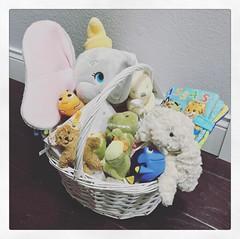 My first Easter basket! #LoveYouAlwaysBabyJohn