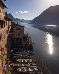 #Gandria #Lugano #Ticino #Tessin #lago #lake #sunrise #svizzera #switzerland #Suisse #schweiz #vacations #travel #trip #iloveswitzerland