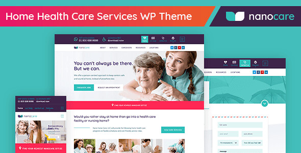 NanoCare WordPress Theme free download