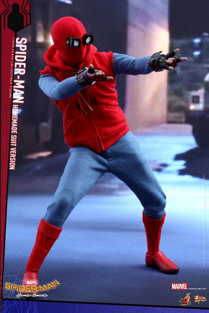 Hot Toys – MMS414 – 《蜘蛛人:返校日》1/6比例 蜘蛛人(自製服裝Ver.) Spider-Man: Homecoming Homemade Suit Version
