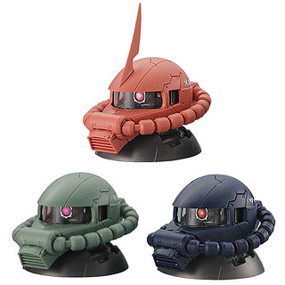 《機動戰士鋼彈 》EXCEED MODEL 薩克頭像「盒裝版本」超好評再登場!!ZAKU HEAD 9個入りBOX