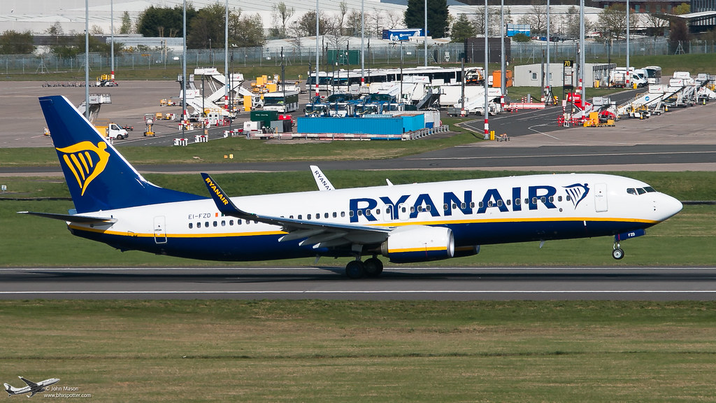 EI-FZD - B738 - Ryanair