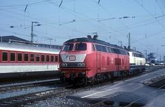 - DB  218 001  bis