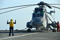 SH-3D prepares to takes off