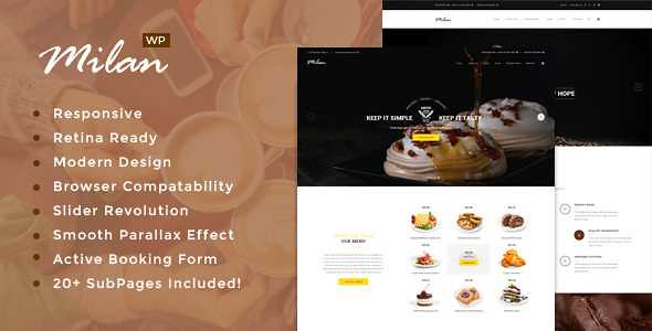 Milan WordPress Theme free download