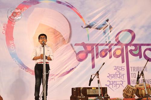 Master Garv Sachdev from Pune expresses his views