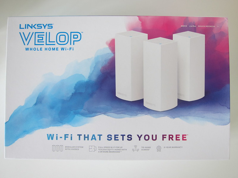 Linksys Velop - Box Front