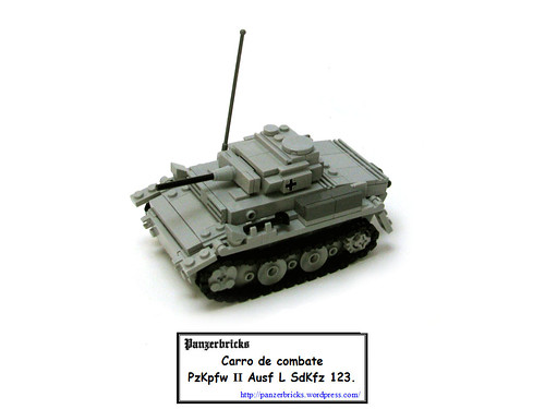 Panzer II Ausf L de Panzerbricks