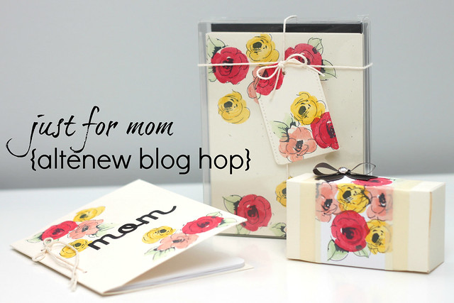 altenew blog hop!