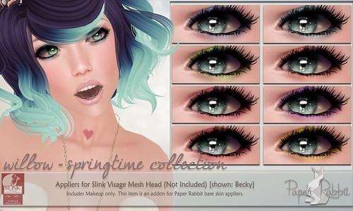 Visage Springtime Makeup