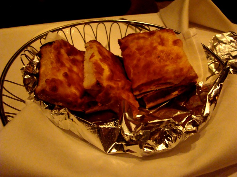Hy's Steakhouse cheese toast