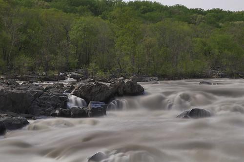 longexposure nature river md rocks natural rapids le potomac geography cocanal raging class5 tenstop