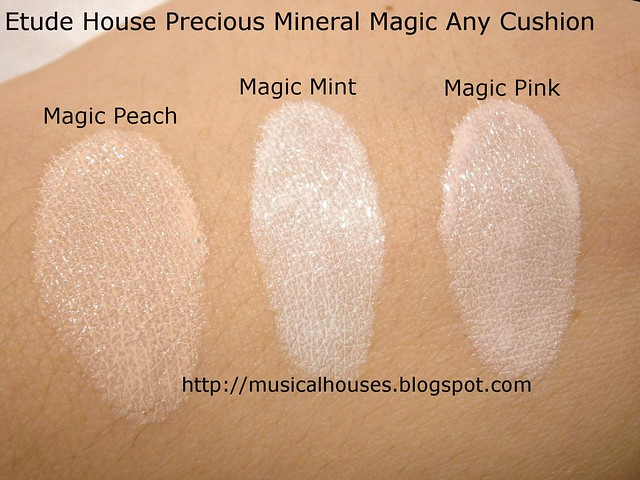 Etude House Precious Mineral Magic Any Cushion Swatch