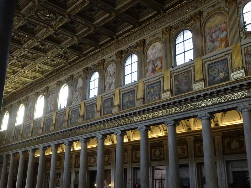 Nave, S Maria Maggiore