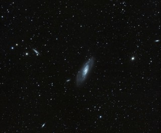 Messier M106 (NGC 4258) + Friends